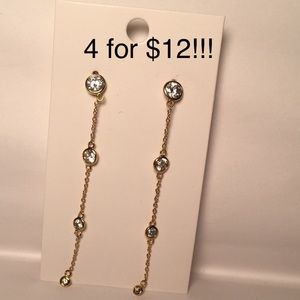 4 for $12: dainty pair of earrings